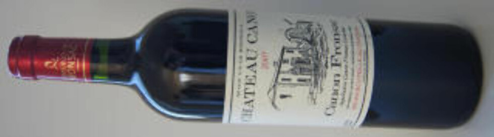 ALLSIDIG: Chateau Canon 2007 er en elegant vin med hovedbase på merlotdruer.