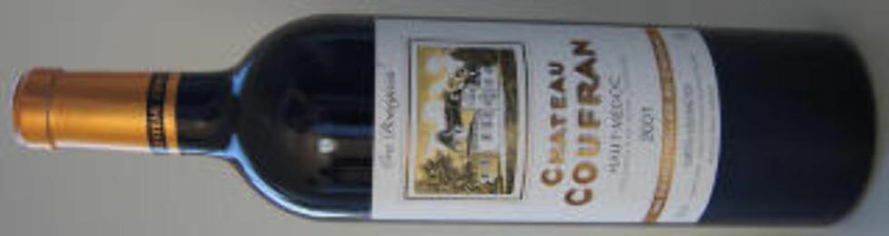 GODT LAGET: Chateau Coufran er tilgjengelig i flere årganger og verdt et forsøk.
