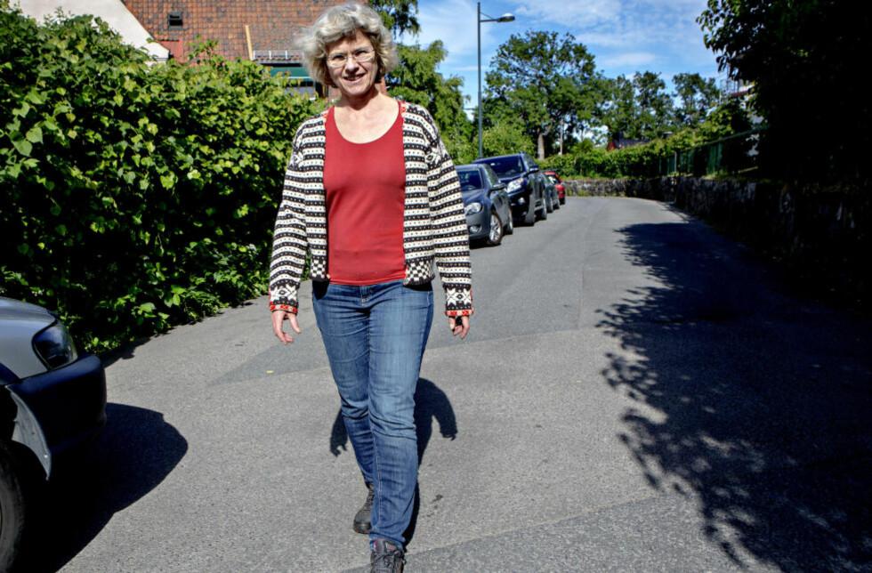 ENDELIG FERDIG: Dommer Wenche Elizabeth Arntzen hjemme på Ullevål i Oslo. Hun hylles fra alle kanter for sin ledelse av rettssaken mot Anders Behring Breivik. Foto: Lars Eivind Bones / Dagbladet
