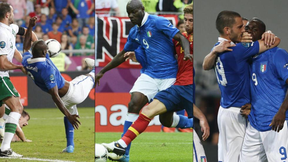 THE GOOD, THE BAD AND THE UGLY: TV 2-ekspert Kasper Wikestad tror Mario Balotelli avgjør kvartfinalen mellom England og Italia. Foto: Reuters/EPA/AP Photo