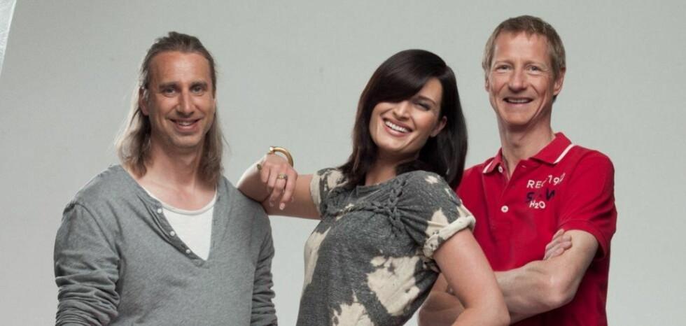 SOMMERTURNÈ: Denne uken legger Sune Wentzel, Lise Karlsnes og Jan Normann ut på sommerturnè med P4.