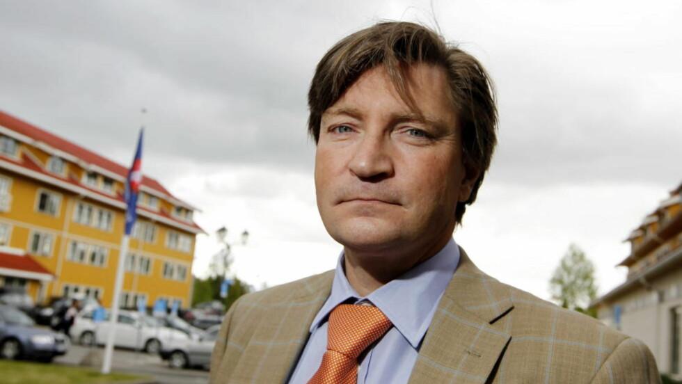 Stortingsrepresentant Christian Tybring-Gjedde mener Torgeir Micaelsen (Ap) bommer i kritikken av Frp. Foto: Håkon Mosvold Larsen / Scanpix