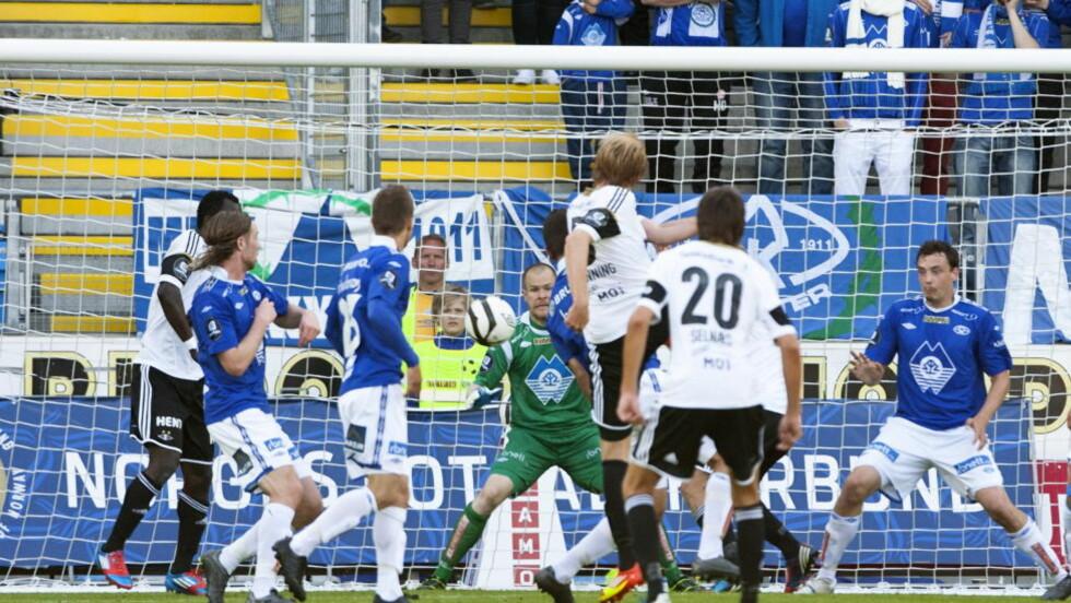 DRAMATIKK: Cupkampen mellom Molde og Rosenborg ble en høydramatisk affære, men på TV gikk den ikke. Foto: Svein Ove Ekornesvåg / NTB scanpix