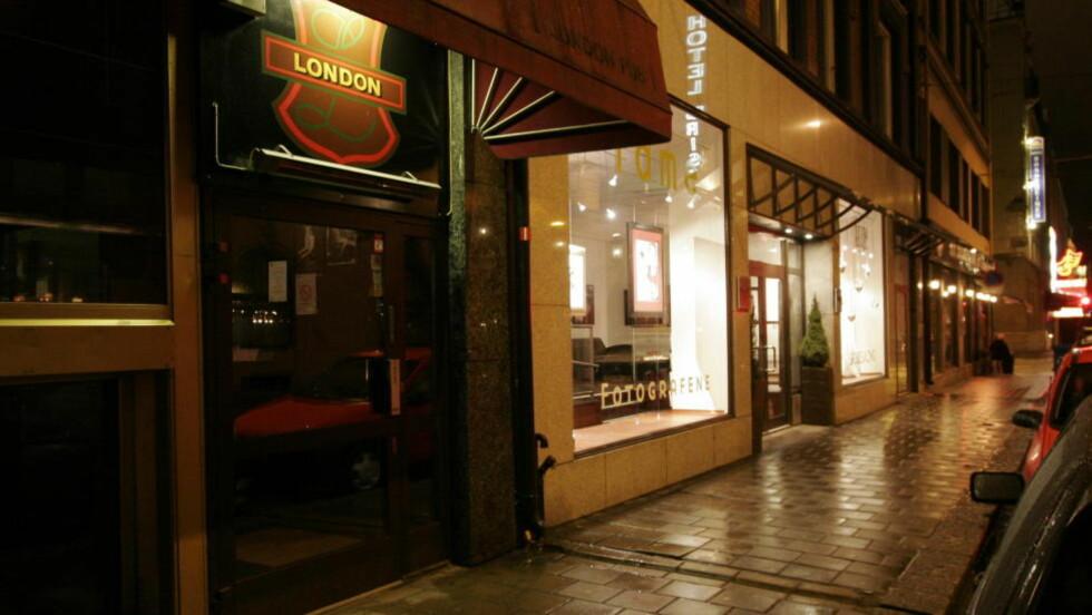 TILTALT FOR GROV VOLD: Her på London pub i Oslo skal en profilert AUF-er ha utøvd vold mot to personer, ifølge en fersk tiltale. Foto: Jarl Fr. Erichsen / NTB Scanpix