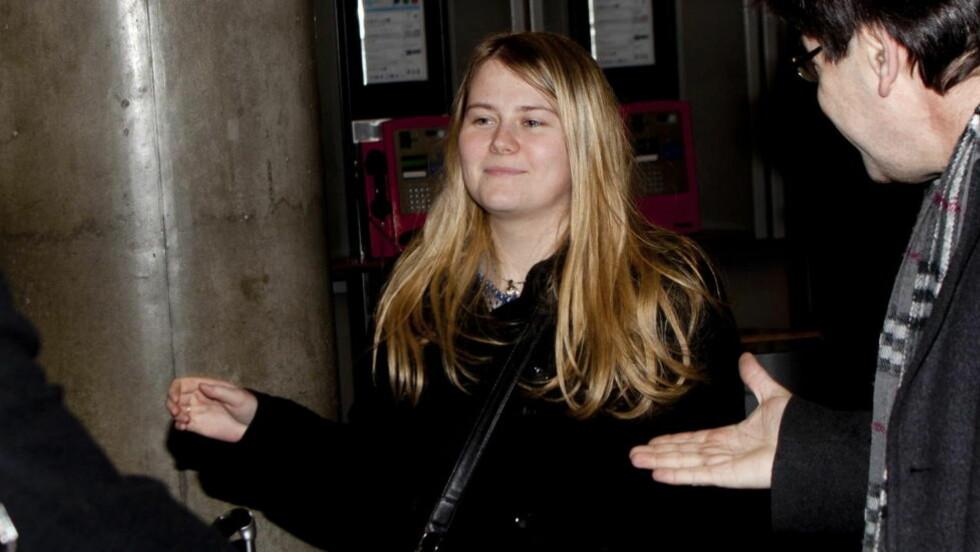 GRANSKES PÅ NY: Kidnappingen av Natascha Kampusch skal granskes på nytt. Her ankommer hun Gardermoen med fly fra Wien. Foto: Sveinung U. Ystad, Dagbladet