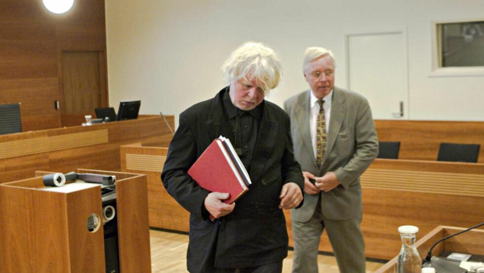 Anker: Odd Nerdrum og forsvarer Pål Berg har besluttet å anke dommen fra Borgarting lagmannsrett. Nedrum er dømt til to år og ti måneder i fengsel for grovt skattesvik. FOTO: TORBJØRN BERG / DAGBLADET