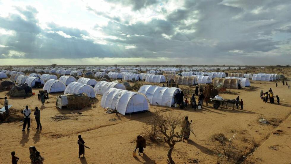 Farlig:  Sikkerhetssituasjonen i grenseområdene mellom Somalia og Kenya er verre enn noen sinne. AFP PHOTO / Tony KARUMBA