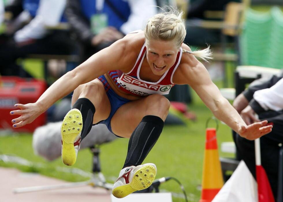 GODKJENT: Ida Marcussen gjorde et godt EM, men var likevel 127 poeng bak OL-kravet.Foto: Lise Åserud / NTB scanpix