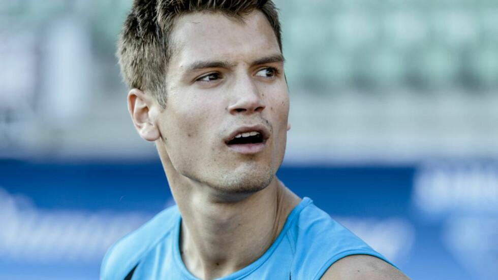 NÅDDE MÅLET: Vladimir Vukicevic hadde mål om semifinale i EM. Det klarte han fint. Foto: Krister Sørbø / NTB scanpix