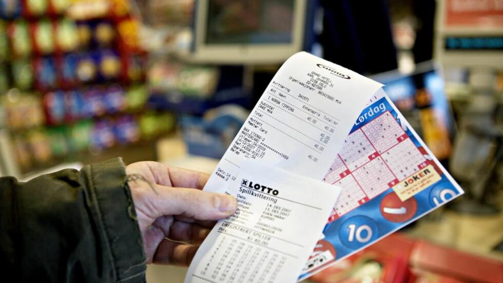 STORFANGST: En mann fra Sør-Trøndelag vant i kveld hele potten i «Super-Lotto». Illustrasjonsfoto: Nina Hansen  Illustrasjonsfoto: NINA HANSEN, Dagbladet
