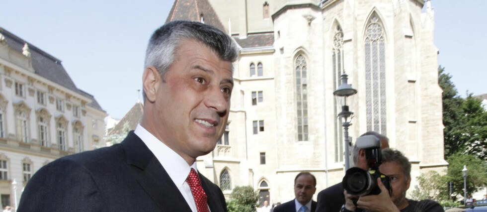 HISTORISK: Kosovos statsminister Hashim Thaci var til stede da styringsgruppen vedtok å gi republikken full suverenitet. Ministeren kaller det en historisk dag for Kosovo.    Foto: Ronald Zak