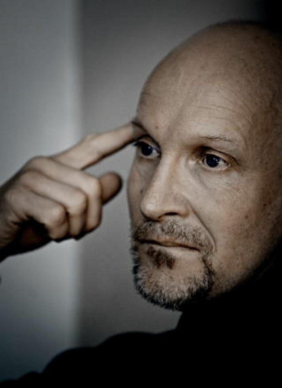 <strong>OPPHAVSMANNEN:</strong> Forfatter Lars Saabye Christensen utga «Halvbroren» i 2001, og har siden fått blant annet Brageprisen og Bokhandlerprisen for romanen. Foto: Jørn H. Moen / Dagbladet