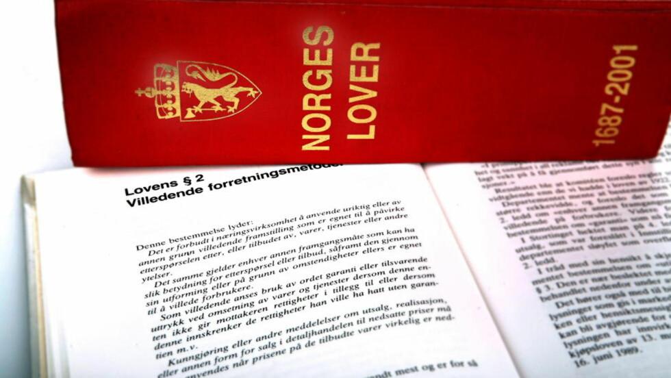 LETTERE Å KLAGE: Nå skal det bli lettere å klage på advokater. Foto: Ole C.H. Thomassen / Dagbladet