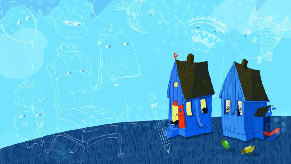 Illustrasjon fra boka: Ella K. Okstad/Cappelen Damm