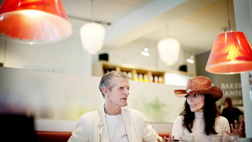 SKUFFET: Nini Stoltenberg og hennes samboer Karljohn Sivertzen er skuffet over at prøveprosjektet med heroinassistert behandling ble stanset.  Foto: Anita Arntzen / Dagbladet