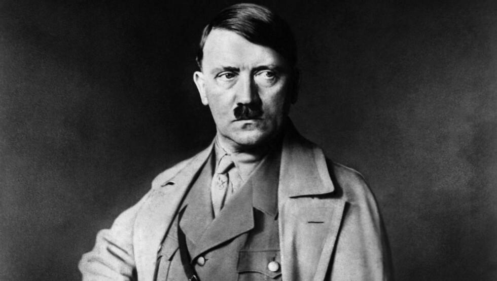 GREP INN: Hitler grep personlig inn for å beskytte en jødisk mann som var Hitlers overordnede under første verdenskrig.  Foto: AFP PHOTO/NTBScanpix