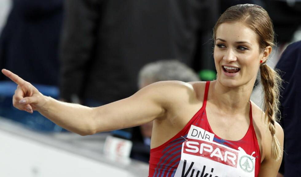 TIL OL: Christina Vukicevic er klar til OL i London.  Foto: Lise Åserud / NTB scanpix