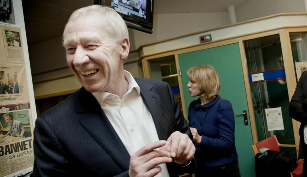 FORNØYD: TV2-sjef Alf Hildrum er strålende fornøyd over å endelig ha blitt enig med Get om en avtale. Foto: Anita Arntzen / Dagbladet