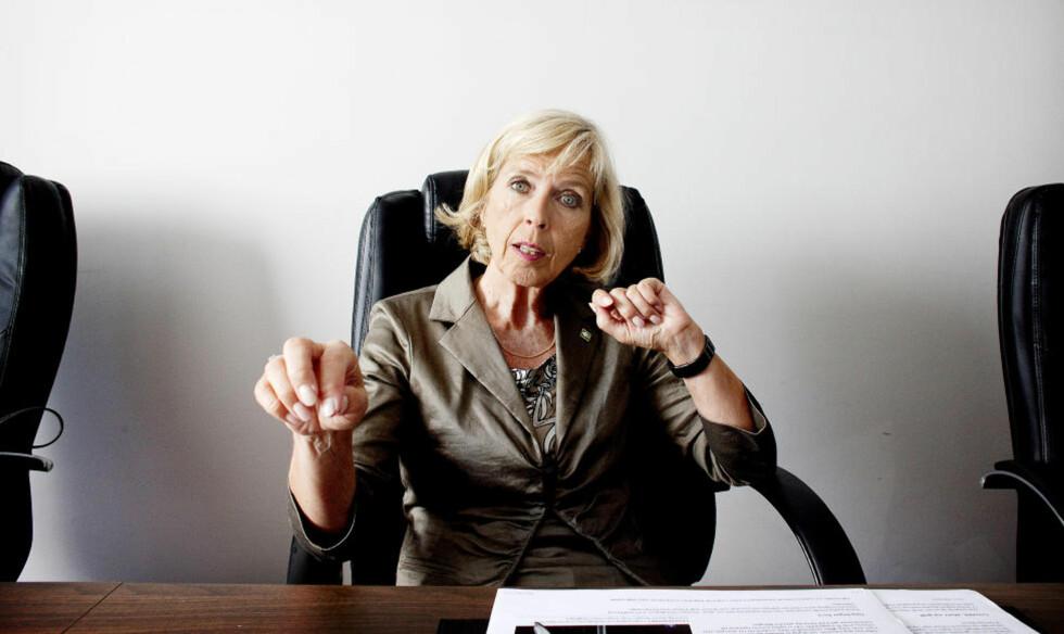 VIL HA EUROPA-REGISTER: Helseminister Anne-Grete Strøm-Erichsen. Foto: Espen Røst / Dagbladet