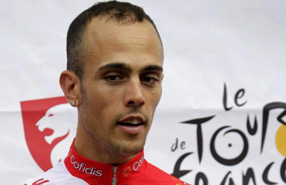 PÅGREPET: Remy Di Gregorio er ifølge Reuters pågrepet av fransk politi etter en razzia mot Cofidis-laget. Foto: AFP PHOTO / PASCAL PAVANI / NTB scanpix