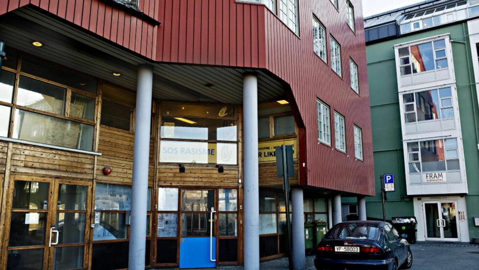 SKAL TVANGSSELGES: SOS Rasismes lokaler i Trondheim skal legges ut for tvangssalg. FOTO: LENA KNUTLI / Dagbladet