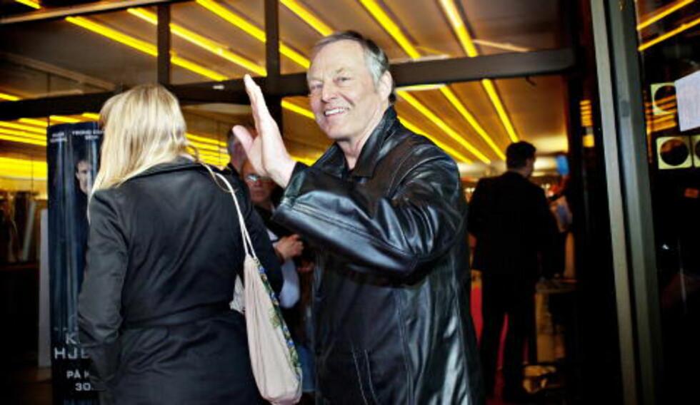 PÅ ROLLELISTA: Også Bjørn Floberg, godt kjent som karakteren Hamre fra filmene om Varg Veum, har en bærende rolle i «90 minutter». Foto: Nina Hansen / Dagbladet
