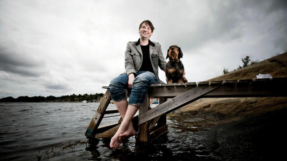 Drømmer:  Tidligere leder i Unge Høyre har gått Civita-skolen. Nå drømmer han om å bli statsråd en gang i fremtiden. Foto: Thomas Rasmus Skaug / Dagbladet