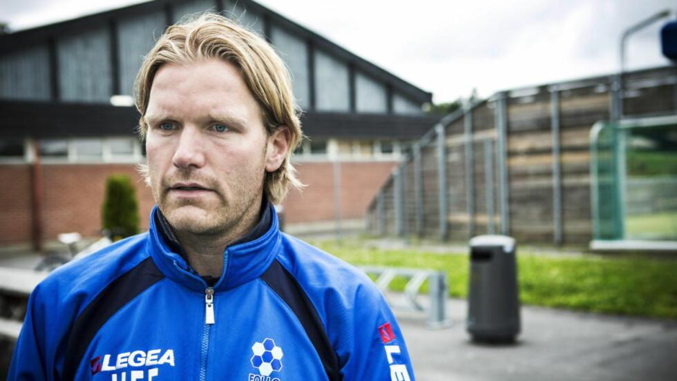 LEGGER KORTENE PÅ BORDET: Follo-trener Hans-Erik Eriksen har bestemt seg for å fortelle om hva slags mulige ulovlige forhold som fikk ham til å gå til politiet. Foto: Sondre Steen Holvik / Dagbladet