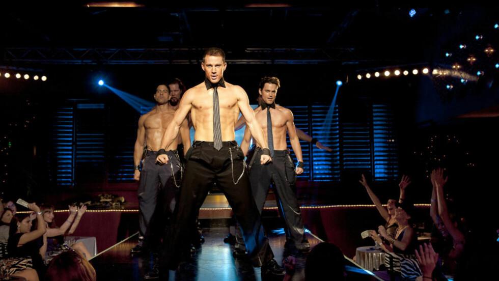 VRIKK OG GNIKK: Channing Tatum skaper begeistring som Magic Mike i Steven Soderberghs siste suksess.