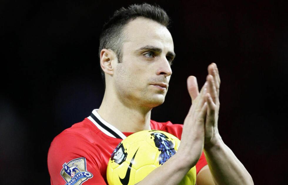 VIL SPILLE FOTBALL: Dimitar Berbatov skal være klar til å forlate Manchester United. Foto: AP Photo/Jon Super/NTB scanpix