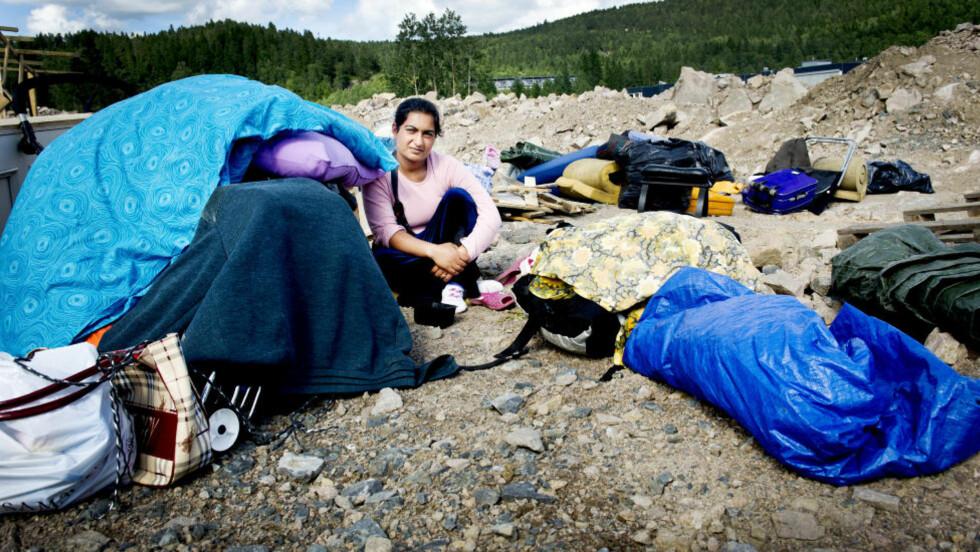 MÅ FLYTTE IGJEN: Romleiren på Årvoll skal stenges i løpet av dagen. Foto: John T. Pedersen / Dagbladet