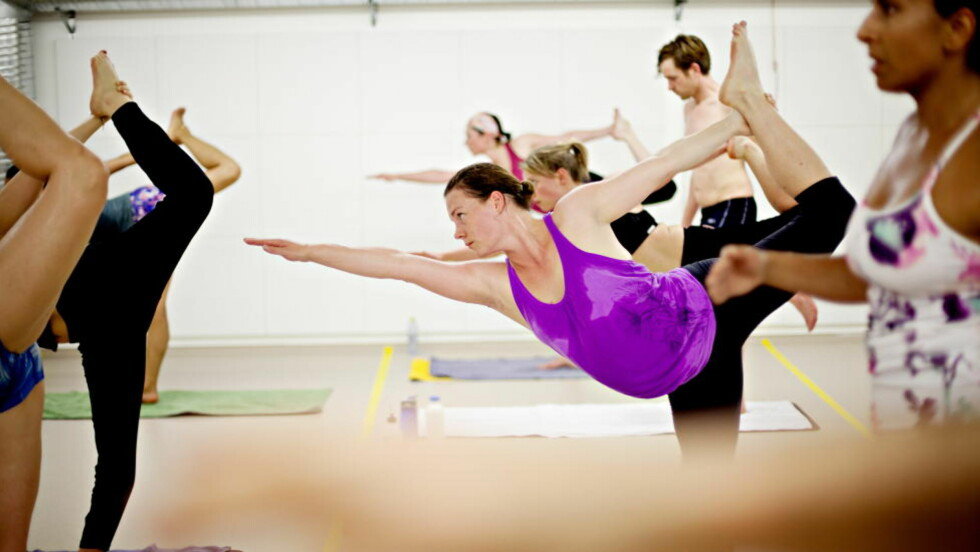 SVETT BUSINESS: Charlotte Andal Møllen driver Norges første senter for yogaformen birkam.Alle foto: Anita Arntzen