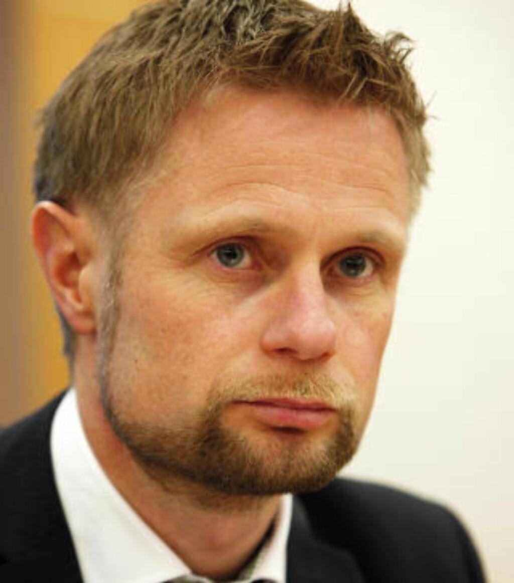 ENIG:  Bent Høie fra Høyre støtter forslaget fra Arbeiderpartiets homonettverk. Foto: Lise Åserud / Scanpix