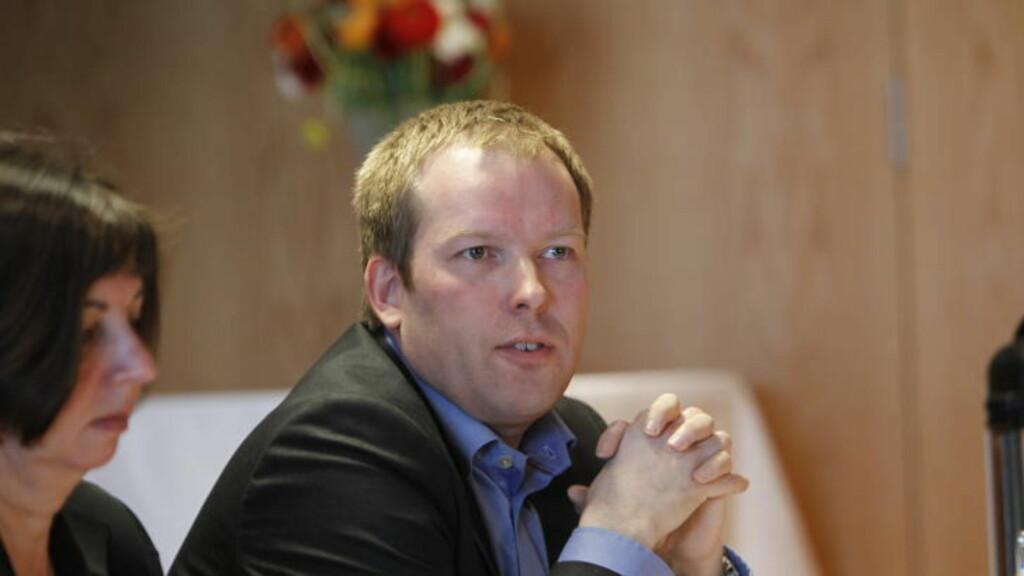 SKREMT: Stortingsrepresentant for Arbeiderpartiet og leder for paritets homonettverk, Håkon Haugli er skremt over de fortsatt høye hivsmitte-tallene. Han mener en lovendring vil få flere til å teste seg. Foto: Morten Holm / SCANPIX