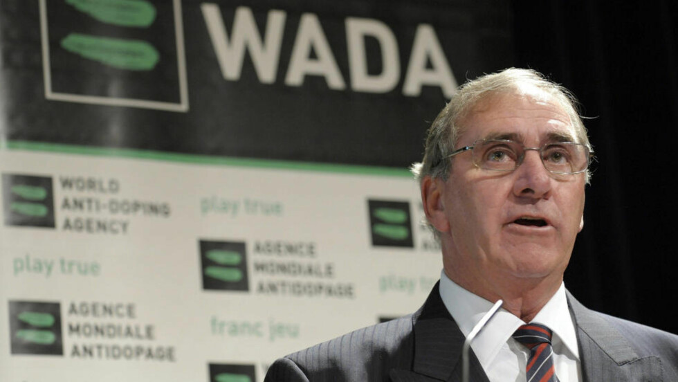 TILFREDS: Wada-sjef John Fahey er tilfreds med den intensive antidopinginnsatsen i forkant av OL i London som har ledet til at minst 107 utøvere har fått startnekt. Foto: AP Photo/Keystone, Laurent Gillieron/NTB scanpix