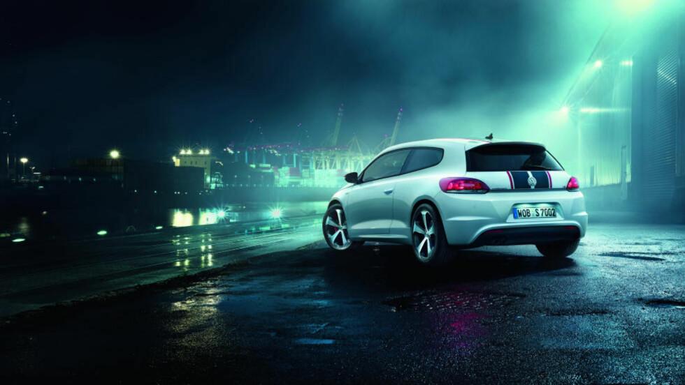 SCIROCCO GTS: Eier du akkurat denne modellen er du vel kanskje en av få, men Volkswagen selger godt med personbiler for tiden. Foto: VOLKSWAGEN.