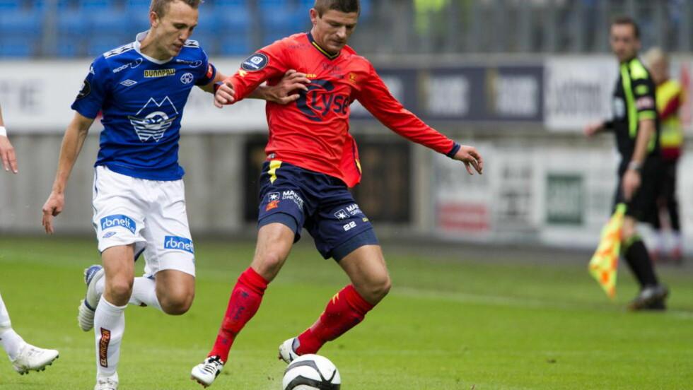 SOLGT: Valon Berisha er solgt til Salzburg. Foto: Svein Ove Ekornesvåg / NTB scanpix