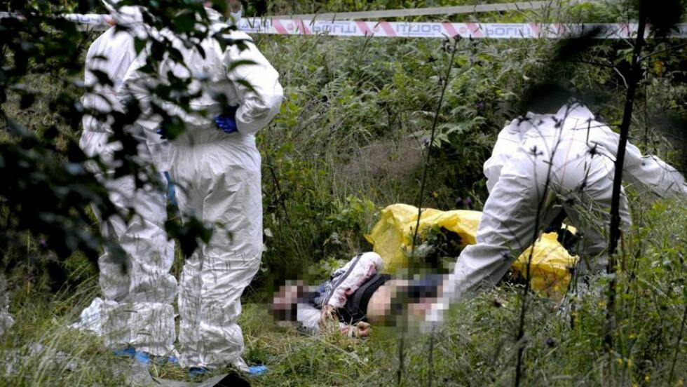 DREPT PÅ NESODDEN: Klokka 14.30 19. juli 2008 ble Sarunas Gucaitis (21) slått med et balltre. Slagene på Nesodden førte til at litaueren fikk åtte knusningsskader i hodet og en brystning i skallen. Mens han lå på bakken stakk en av forfølgerne ham fire ganger med kniv i venstre lår. Det dypeste knivstikket var 18 centimeter dypt. Foto: JOHN T. PEDERSEN/DAGBLADET