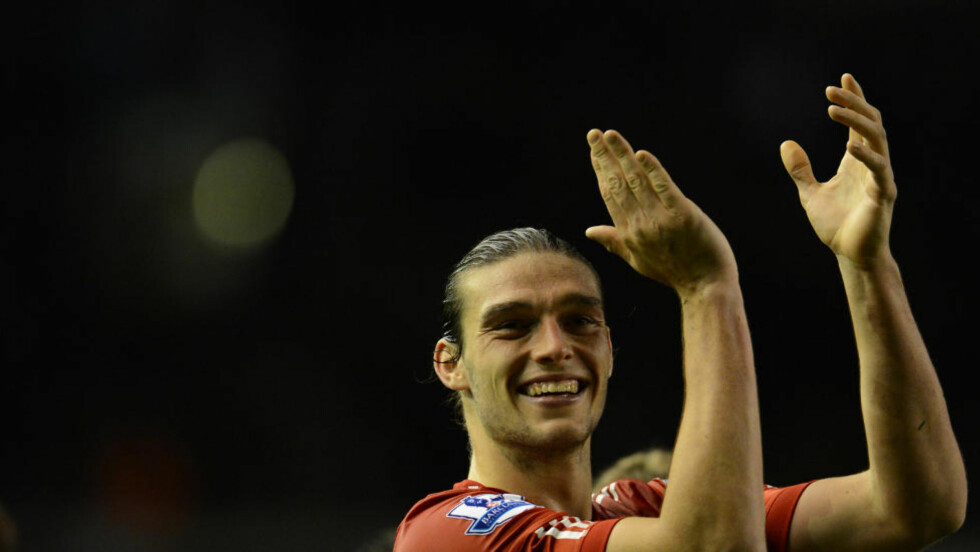 PÅ FLYTTEFOT? Andy Carroll kan være på vei bort fra Liverpool etter halvannet år i klubben. Flere er interesserte. Foto: SCANPIX/AP/Jon Super