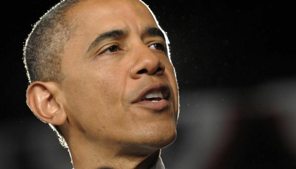 TROR OBAMA ER MUSLIM: En av tre konservative republikanere tror fortsatt på løgnen om at president Barack Obama er muslim, viser en ny meningsmåling. Foto: SUSAN WALSH / AP PHOTO / NTB SCANPIX