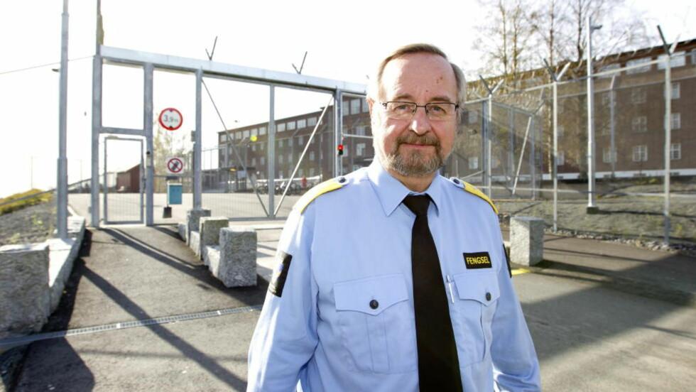 Direktør Knut Bjarkeid  ved Ila fengsel og forvaringsanstalt.  Foto: Gorm Kallestad / Scanpix