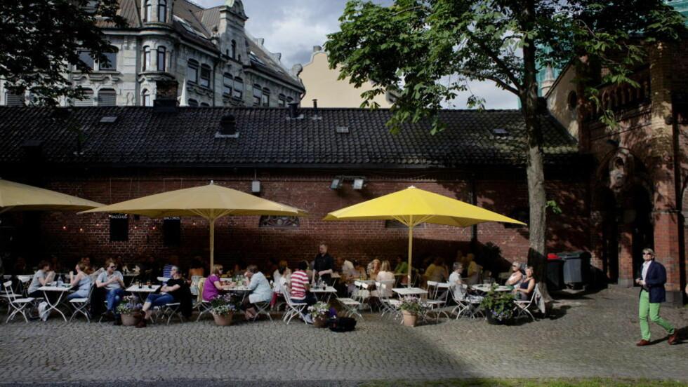Etter jobben: Cafe Bacchus i Kirkeristen er et populært sted for en god, rask lunsj eller et middagsbesøk etter jobben. FOTO: ADRIAN ØHRN JOHANSEN/ DAGBLADET