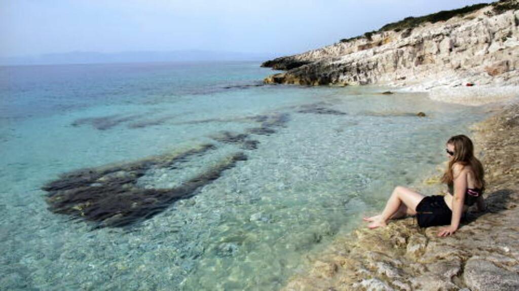 ETABLERT FAVORITT: Det begynner å bli noen år siden nordmenn oppdaget Kroatia, men reiser hit har likevel økt med 13 prosent siden i fjor. Foto: GEIR BØLSTAD