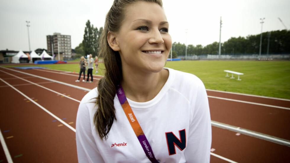 STORKOSER SEG: Amanda Kurtovic sier hun kunne bodd i OL-landsbyen for alltid. Foto: Bjørn Langsem / Dagbladet