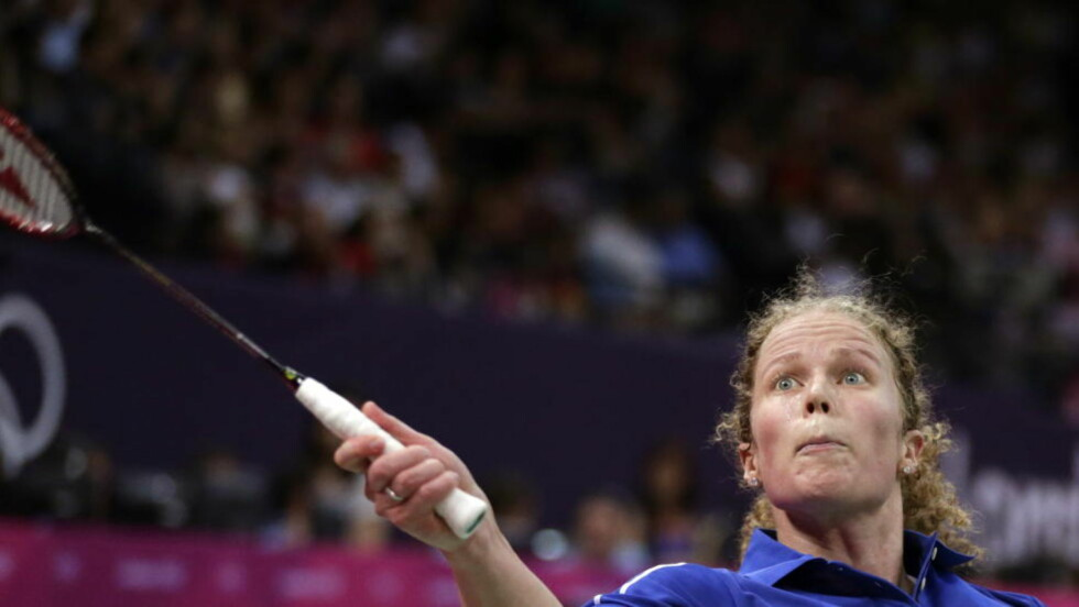 HISTORISK: Sara Blengsli Kværnø ble første norske kvinne i en olympisk badmintonturnering. Dessverre ble motstanden for god.  Foto: Lise Åserud / NTB scanpix