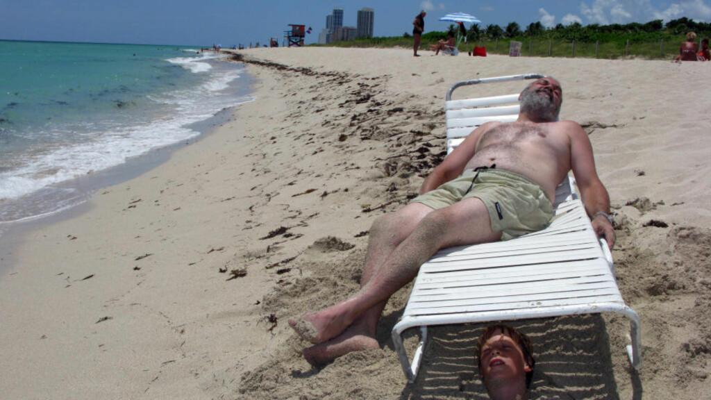 LANG FERIE BEST:  En lang, sammenhengende ferie er best for hjernen, men det kan bli for mye av det gode. Illustrasjonsfoto: Berit Keilen / SCANPIX