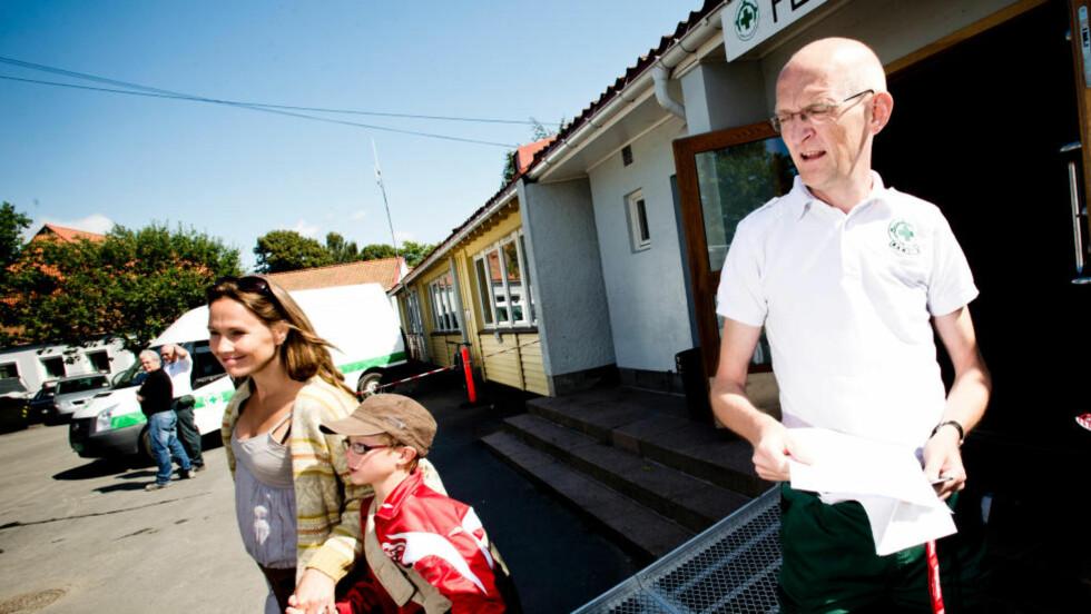 MANGE SKADER: Det er alltid mange skader under Norway Cup Feltykehuset og talsmann Ole Villund forventer rekordmange i år. Foto: Thomas Rasmus Skaug / Dagbladet