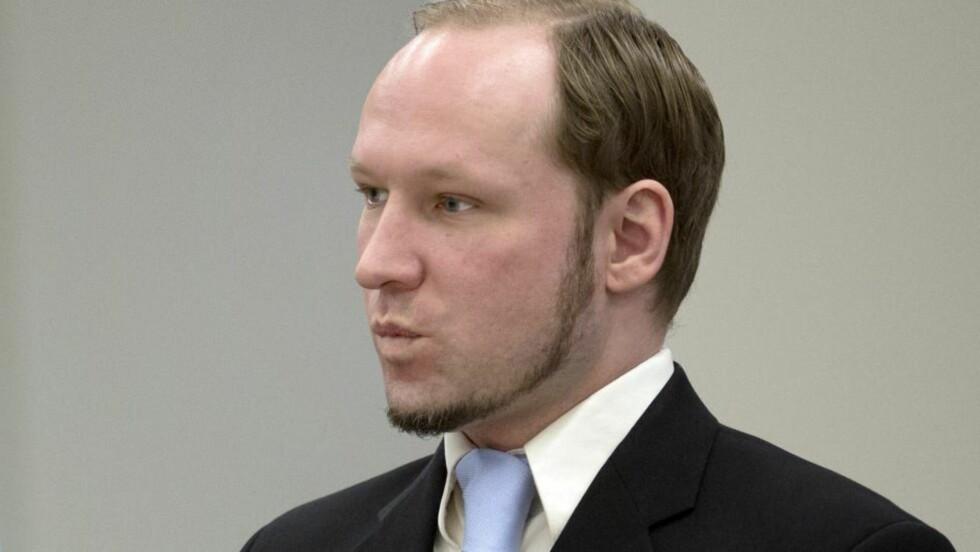 - FARLIG: Tidligere barne- og familieminister Laila Dåvøy (KrF) sier rett ut at hun synes Breivik er «for farlig og at han aldri må komme ut igjen». Foto: AFP PHOTO / DANIEL SANNUM LAUTEN/NTBScanpix