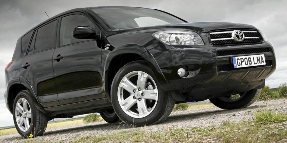 RAV4: Det er flest biler av modellen RAV4 som omfattes av tilbakekallingen. FOTO: Toyota