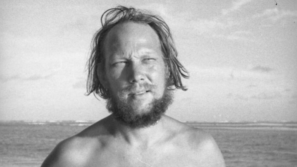 NAVIGATØREN: Erik Hesselberg var den første Thor Heyerdahl ba med på sin Kon-Tiki-ekspedisjon. Han var både sjømann og kunstner, og ga etter hjemkomsten ut den illustrerte boka «Kon-Tiki og jeg». Foto: Kon-Tiki-museet.
